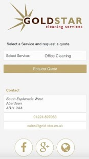 Gold Star Cleaning Services- screenshot thumbnail