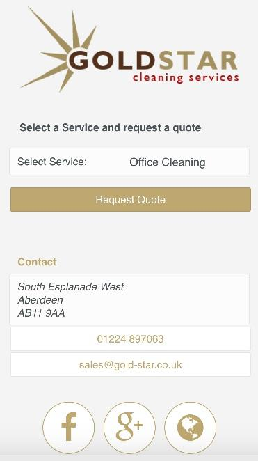 Gold Star Cleaning Services- screenshot