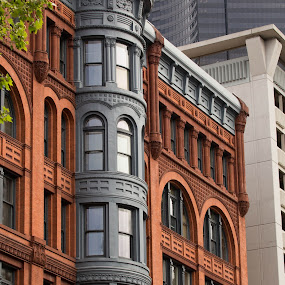 Multi-colored Facade by Jason Rose - Buildings & Architecture Other Exteriors ( seattle, victorian )