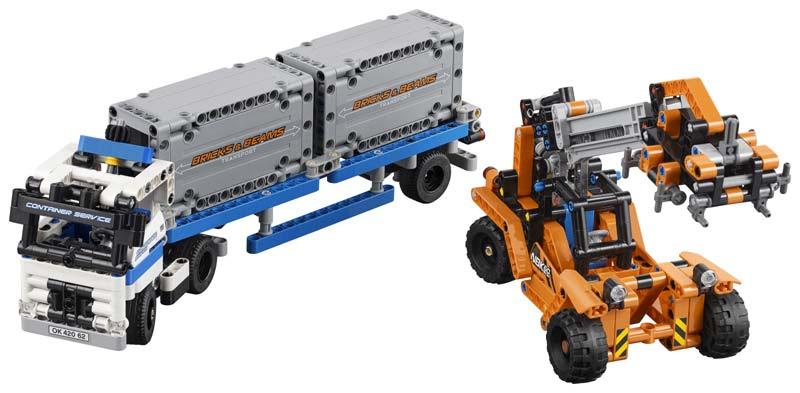 Contenido de Lego® 42062 Depósito de Contenedores