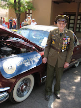 Photo: Dennis Ferk and his Kaiser Dragon (now owned by Ralph Nava).