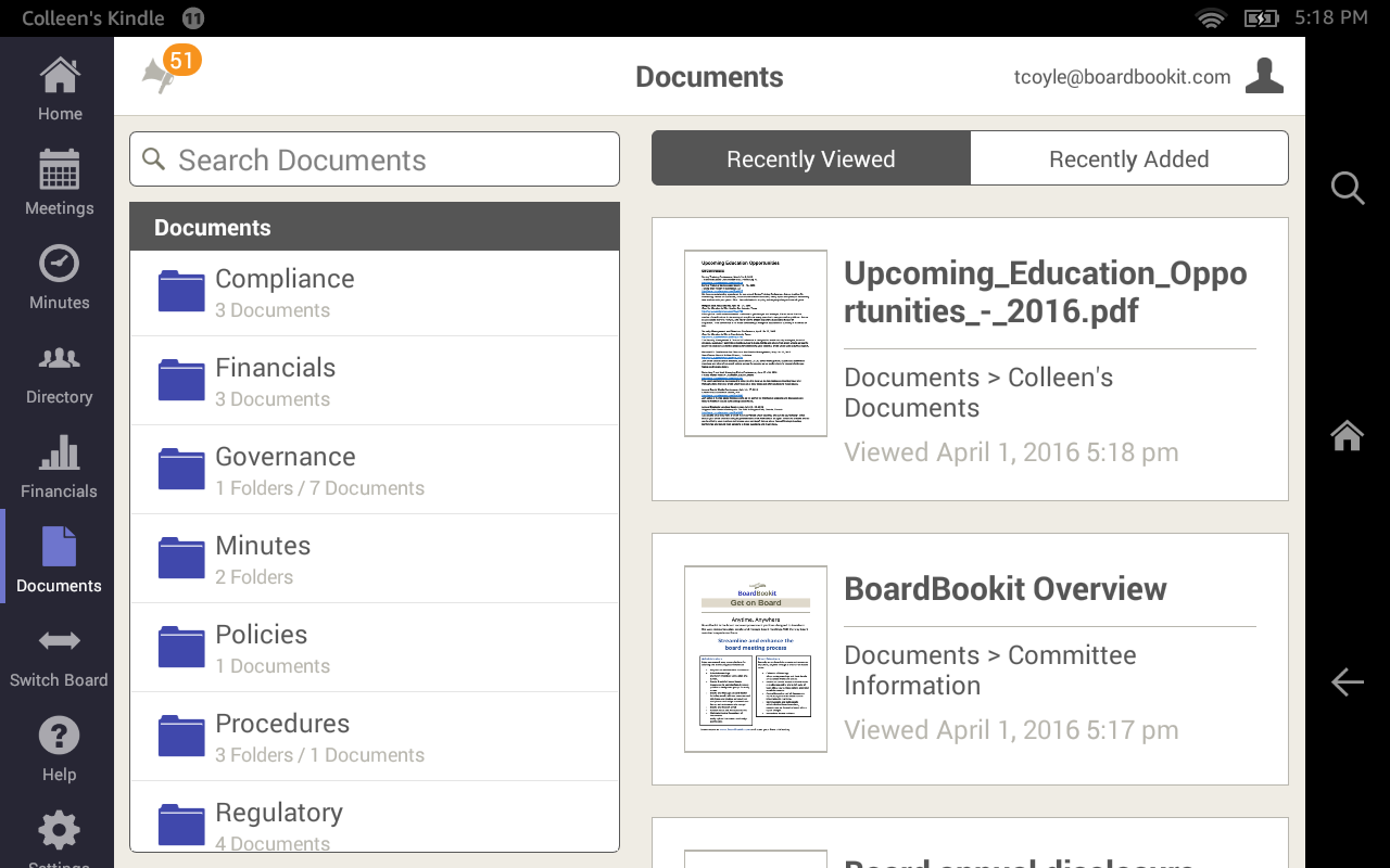 BoardBookit- screenshot