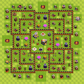 Maps for Clash of Clans War