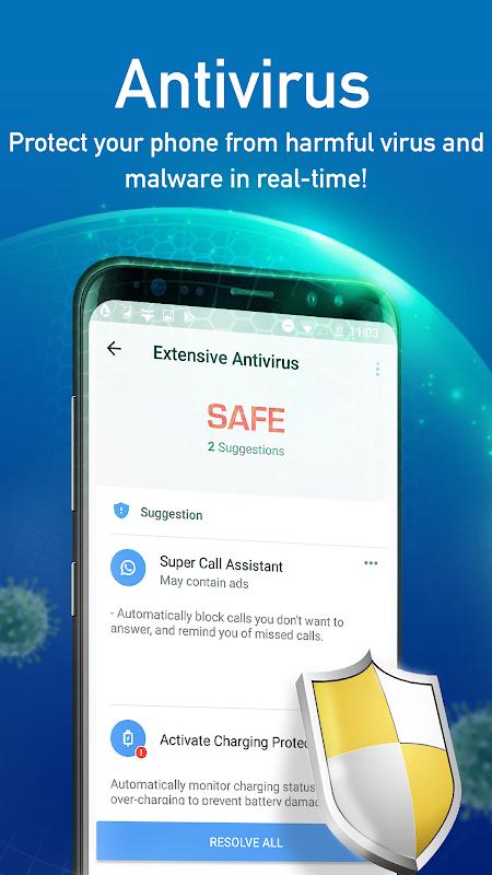 Super Speed Cleaner: Virus Cleaner, Phone Cleaner screenshots