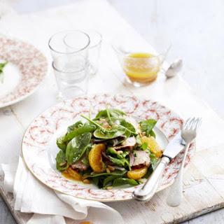 Pork and Tangerine Salad