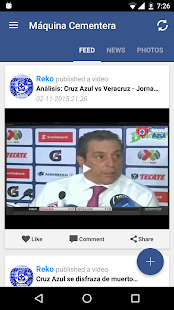 Maquinacementera Cruz Azul Fan- screenshot thumbnail