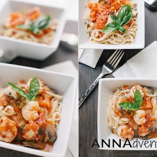 Shrimp Pasta with Tomato Sauce
