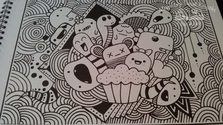 Crazy Drawings Czyli Antystresowe Kolorowanki Dla Dorosłych