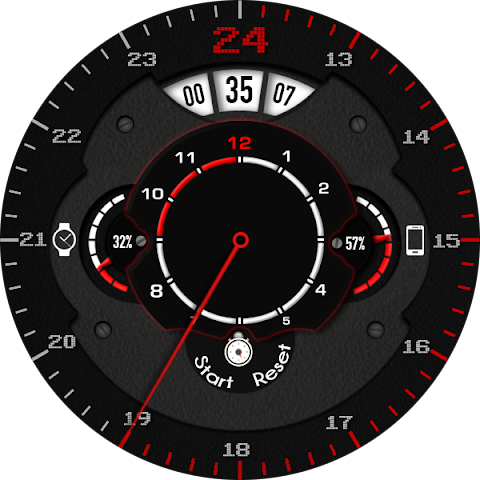 android Phroton Interactive Watch Face Screenshot 25