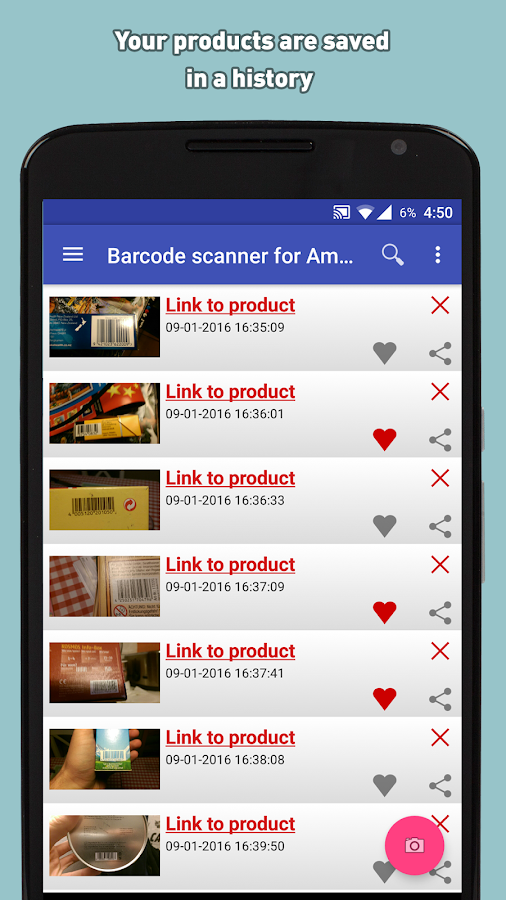 Barcode Scanner for Amazon- screenshot