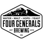 Logo of Four Generals Yellow Truck Lager