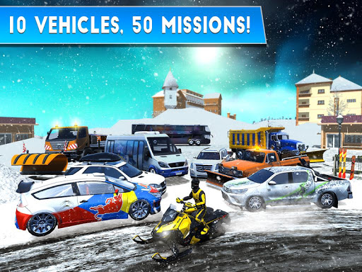 Winter Ski Park: Snow Driver 1.0.1 screenshots 10