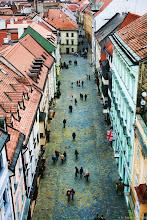 Photo: kilátás a Mihály toronyból