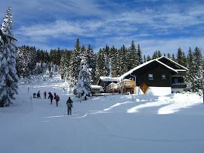Photo: Die Kleine-Arber-Hütte (ehemals Chamer Hütte)