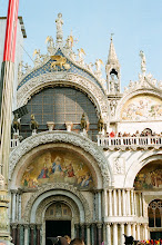 Photo: Szt. Márk bazilika már nem az aranylovakkal