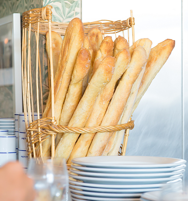 photo of baguettes