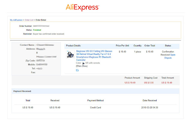 AliExpress Order Extractor