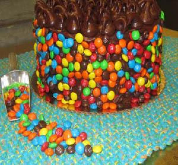 M&m Fudge Cake Recipe
