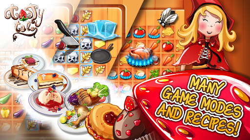 Tasty Tale: puzzle cooking game apkpoly screenshots 23