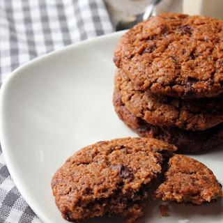Almond Butter & Dark Chocolate Chunk Cookies.
