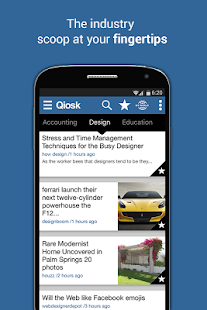 Qiosk News for Professionals- screenshot thumbnail