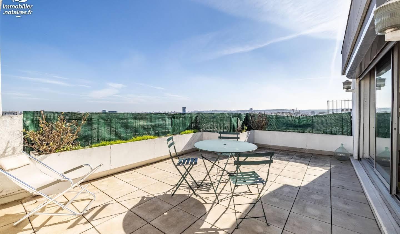 Appartement avec terrasse Paris 16ème