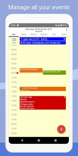 Download APK: CalenGoo – Calendar and Tasks v1.0.180 [Patched]