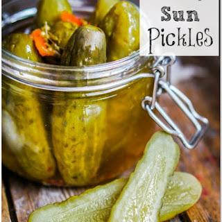 3 Day Sun Pickles