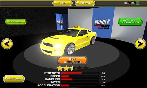 現代出租車賽車3D