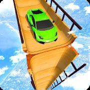 Sky Ramp Car Mega Stunts Big Jump