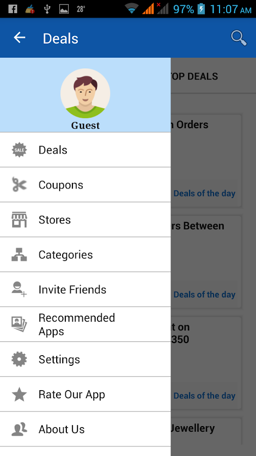 Offcoupon India- screenshot
