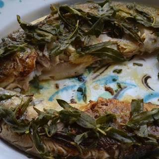 #FishFoodieFridays ~ Sautéed Whole Trout with Sage and White Wine.