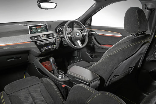 The interior of the BMW X2 is similar to its X1 sibling. Picture: BMW