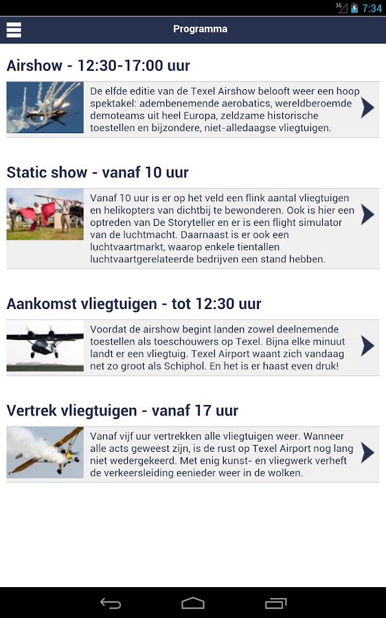Texel Airshow - screenshot
