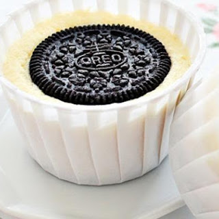 Oreo Mini Cheesecake.
