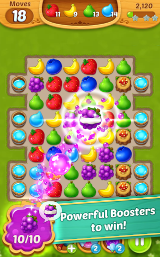 Fruits Mania : Fairy rescue  screenshots 7