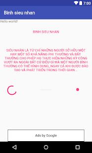 Binh sieu nhan - náhled