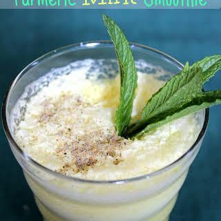 Turmeric Mint Smoothie.