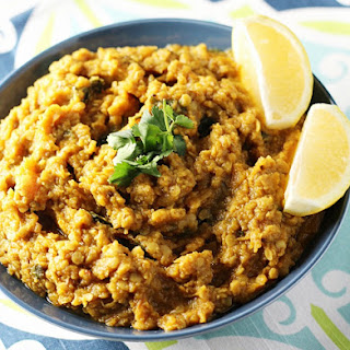 Butternut Squash and Red Lentil Curry Recipe