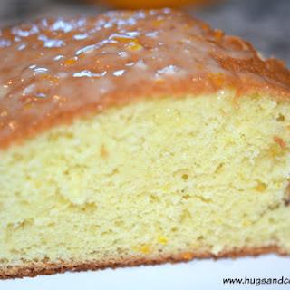 Orange Fluff Cake.