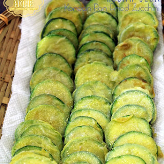Korean Pan Fried Zucchini Recipe