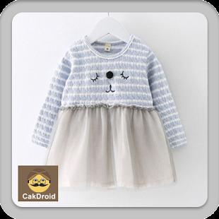 Navrhněte dětské šaty - náhled