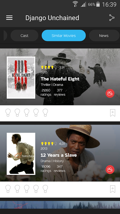 itcher Recommendations - TV Show & Movie Suggester- screenshot