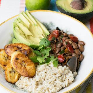 Cuban Rice & Beans Bowl Recipe