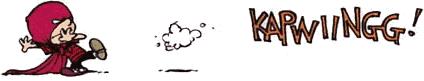 Calvin comic