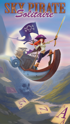 Sky Pirate Solitaire Card Game - Caribbean Dream screenshot 1