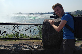 Photo: Filming at Niagara