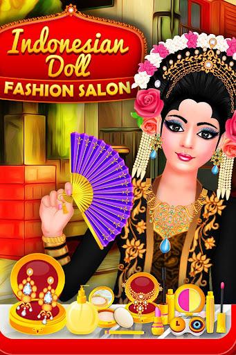 Indonesian Doll Fashion Salon Dress up & Makeover 2.0 screenshots 1