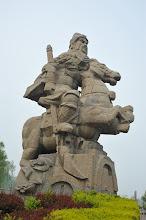 Photo: 灞陵橋-關公