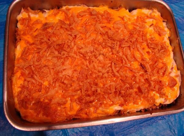 Potato Burger Casserole Recipe
